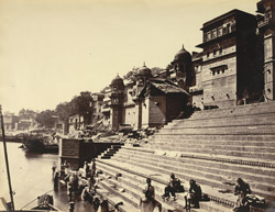 Panday, Chausathy and Rana Ghats [Benares].